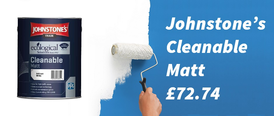 Johnstone's trade paint: cleanable matt